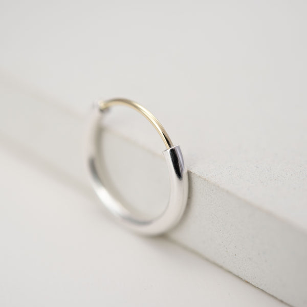 Minimalistic Proposal ring by AgJc