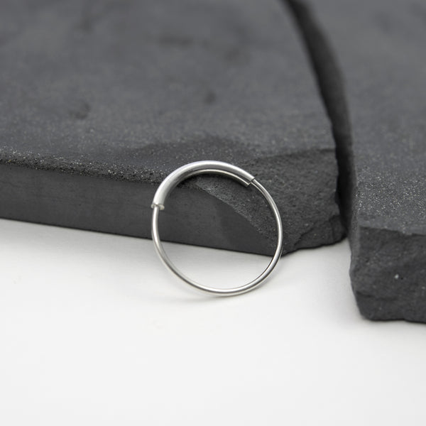 Delicate ring is hand made by AgJc