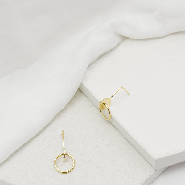 geometric shapes statement earrings by AgJc