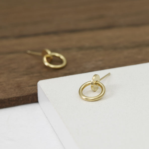 Small stud earrings for everyday wear by AgJc