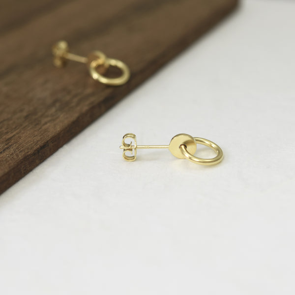Small Gold stud by AgJc
