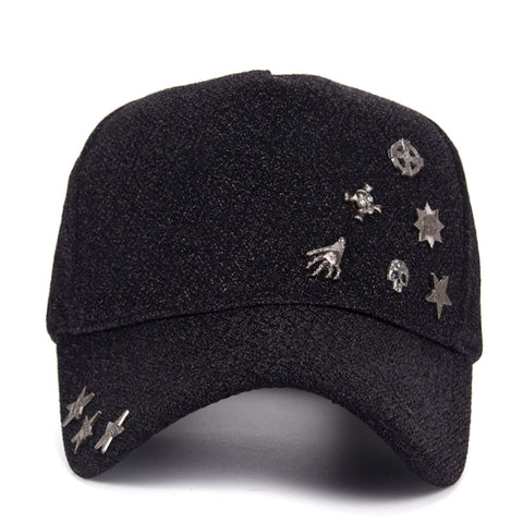 f4c3bed6ade NEW Fashion Winter Warm Snapback Hat with Floral Decorated