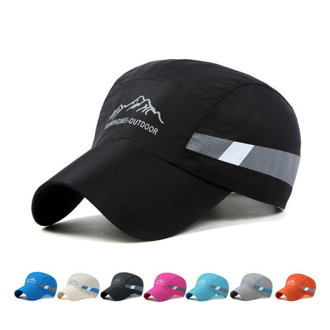 ee425d44 Snapback Quick Dry Breathable Mesh Running Cap