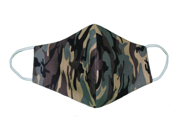 Mask Army Camo Cloth Face Mask