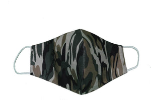 Mask Green Camo Cloth Face Mask