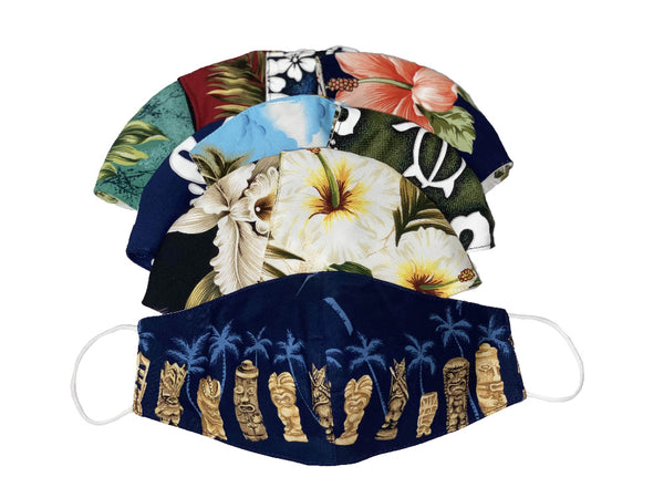 Mask Hawaiian Cloth Face Masks