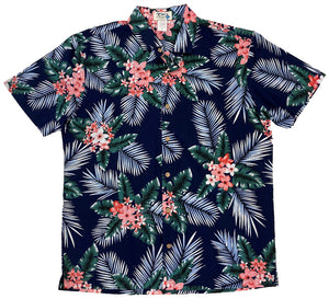 Ky's Night Bloom Button Up Hawaiian Shirt