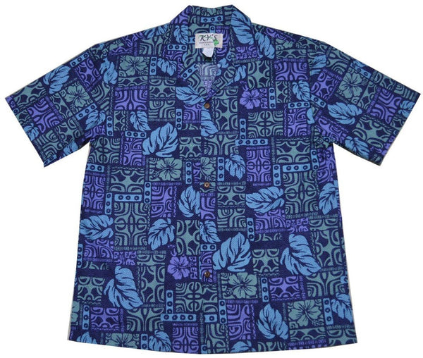 Mystical Tapa Hawaiian Shirt