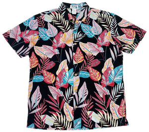 Ky's Retro Paradise Button Up Hawaiian Shirt.