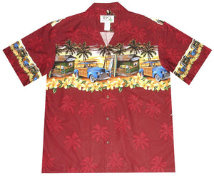 Ky's Red Woody Shack Hawaiian Shirt.