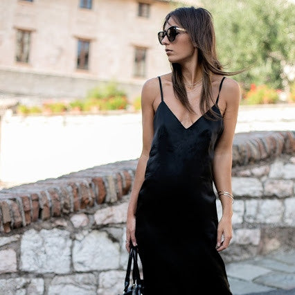 BLACK DRESS - NOBODY IS PERFECT by FRANCESCA VENTURINI
