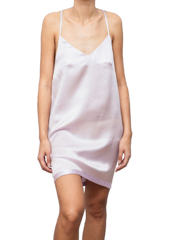 DELIZIA SILK SLIP DRESS PROVENZA LILAC
