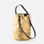 BOLSO RACER BUCKET ARROW GOLD