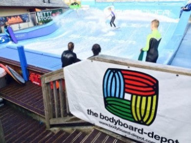 Newquay's awesome flowrider