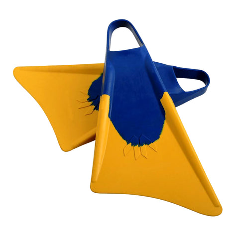 Found Era Bodyboard Fins - Blue / Yellow
