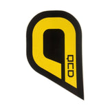 QCD Bodyboarding Large Q sticker