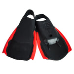 Sola Fun Bodyboard Fins - Black / Red