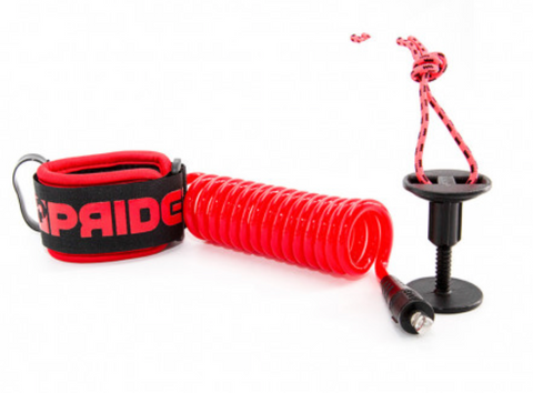 Pride Costes Pro Wrist Leash Red