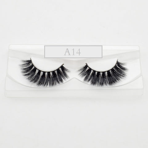 MINK Lashes - A14