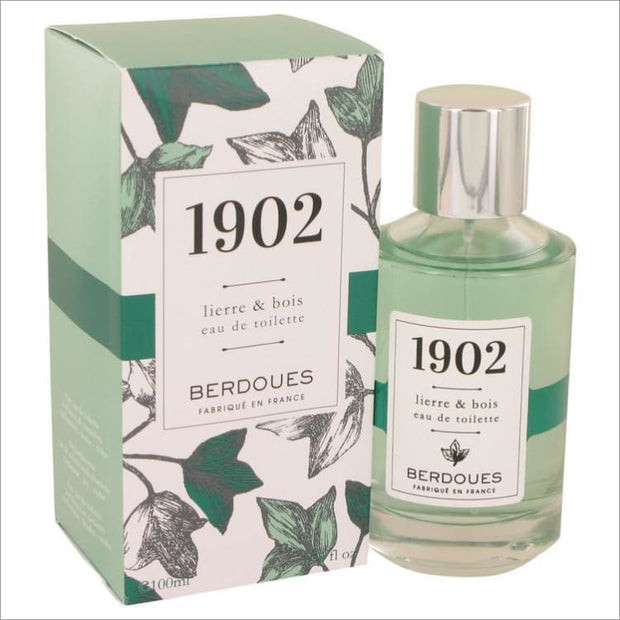 1902 Lierre & Bois by Berdoues Eau De Toilette Spray 3.38 oz for Women - PERFUME