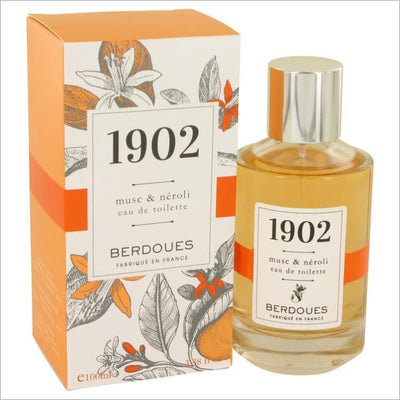 1902 Musc & Neroli by Berdoues Eau De Toilette Spray 3.38 oz for Women - PERFUME