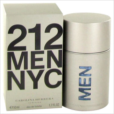 212 by Carolina Herrera Eau De Toilette Spray (New Packaging) 1.7 oz for Men - COLOGNE