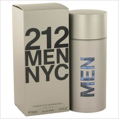 212 by Carolina Herrera Eau De Toilette Spray (New Packaging) 3.4 oz for Men - COLOGNE