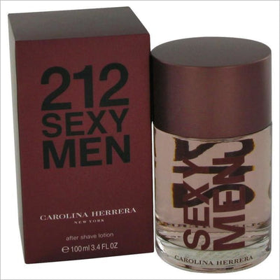 212 Sexy by Carolina Herrera After Shave 3.3 oz for Men - COLOGNE