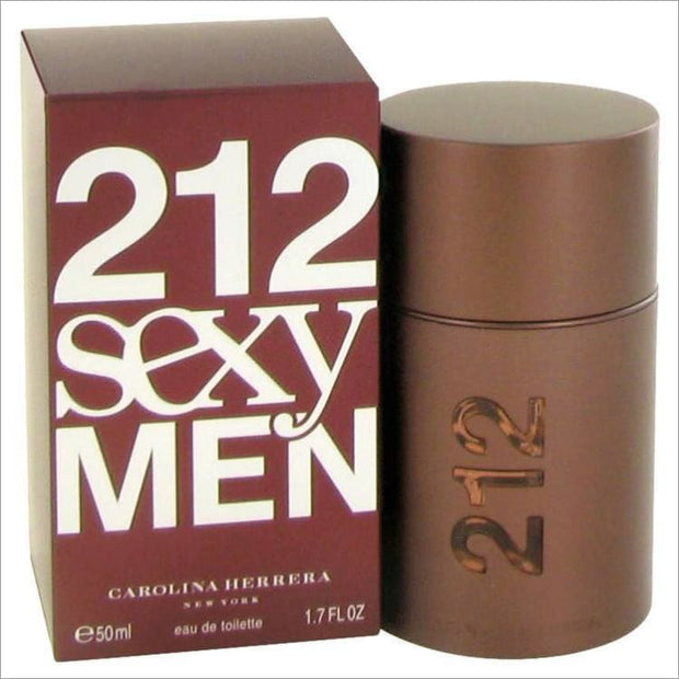 212 Sexy by Carolina Herrera Eau De Toilette Spray 1.7 oz for Men - COLOGNE