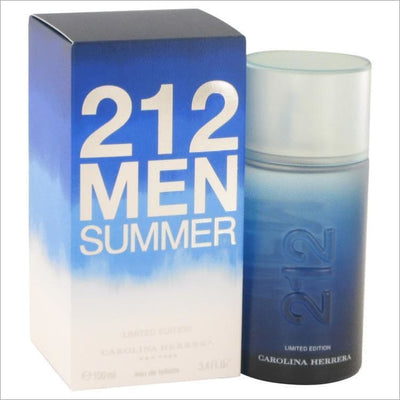 212 Summer by Carolina Herrera Eau De Toilette Spray (Limited Edition) 3.4 oz for Men - COLOGNE