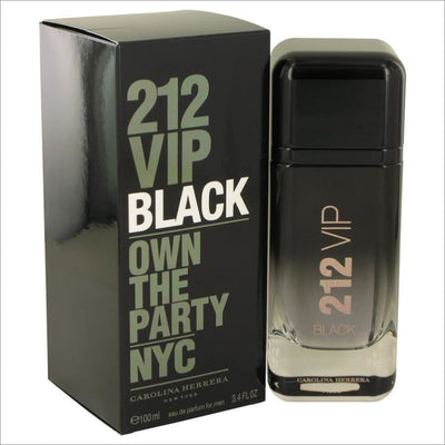 212 VIP Black by Carolina Herrera Eau De Parfum Spray 6.8 oz for Men - COLOGNE