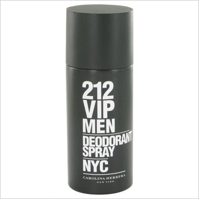 212 Vip by Carolina Herrera Deodorant Spray 5 oz for Men - COLOGNE