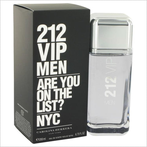 212 Vip by Carolina Herrera Eau De Toilette Spray 6.7 oz for Men - COLOGNE