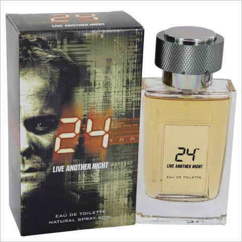 24 Live Another Night by ScentStory Eau De Toilette Spray 1.7 oz for Men - COLOGNE