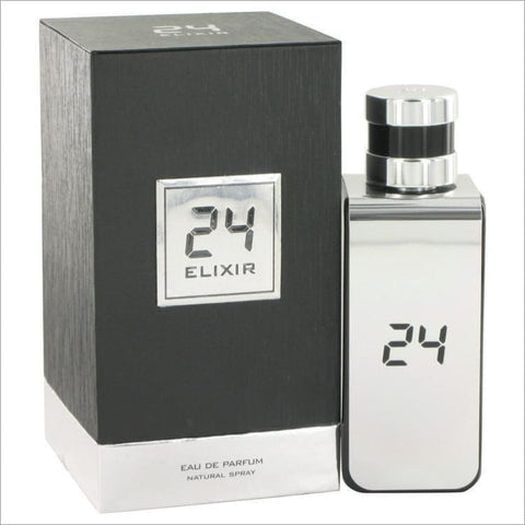 24 Platinum Elixir by ScentStory Eau De Parfum Spray 3.4 oz for Men - COLOGNE