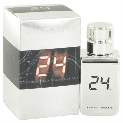 24 Platinum The Fragrance by ScentStory Eau De Toilette Spray 1 oz for Men - COLOGNE