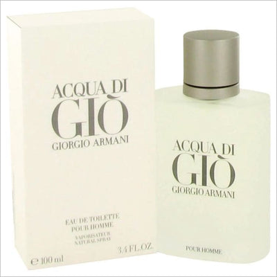 ACQUA DI GIO by Giorgio Armani Eau De Toilette Spray 3.3 oz for Men - COLOGNE