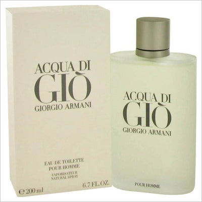 ACQUA DI GIO by Giorgio Armani Eau De Toilette Spray 6.7 oz for Men - COLOGNE
