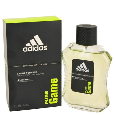 Adidas Pure Game by Adidas Eau De Toilette Spray 3.4 oz for Men - COLOGNE