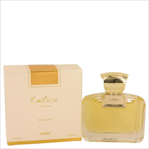 Ajmal Entice by Ajmal Eau De Parfum Spray 2.5 oz for Women - PERFUME