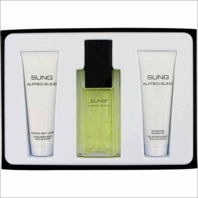 Alfred Sung 3 Pcs Set For Women: 3.4 Sp - South Beach Fragrance Gift Set