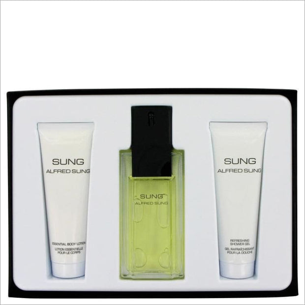 Alfred SUNG by Alfred Sung Gift Set -- for Women - PERFUME