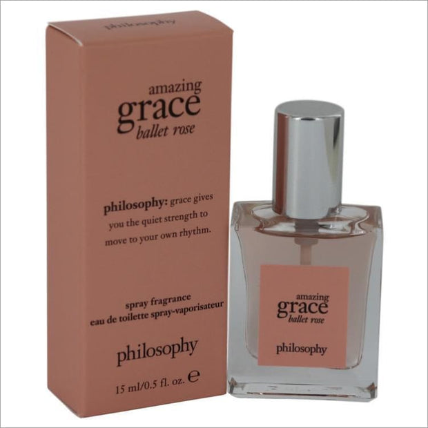 Amazing Grace Ballet Rose by Philosophy Eau De Toilette Spray 2 oz - WOMENS PERFUME