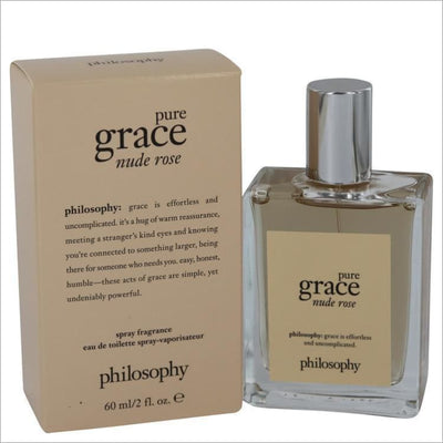 Amazing Grace Nude Rose by Philosophy Eau De Toilette Spray 2 oz for Women - PERFUME