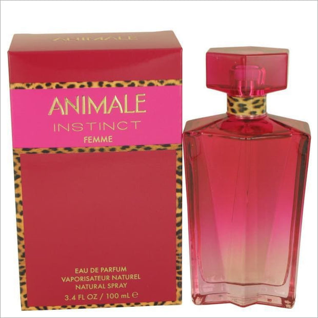 Animale Instinct by Animale Eau De Parfum Spray 3.4 oz for Women - PERFUME
