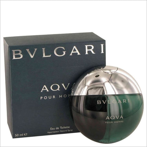 AQUA POUR HOMME by Bvlgari Eau De Toilette Spray 1.7 oz for Men - COLOGNE