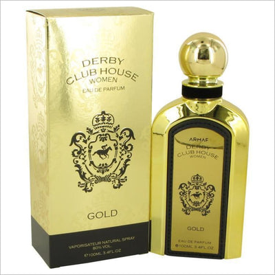 Armaf Derby Club House Gold by Armaf Eau De Parfum Spray 3.4 oz for Women - PERFUME