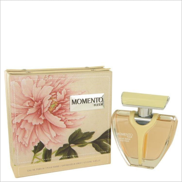 Armaf Momento Fleur by Armaf Eau De Parfum Spray 3.4 oz for Women - PERFUME