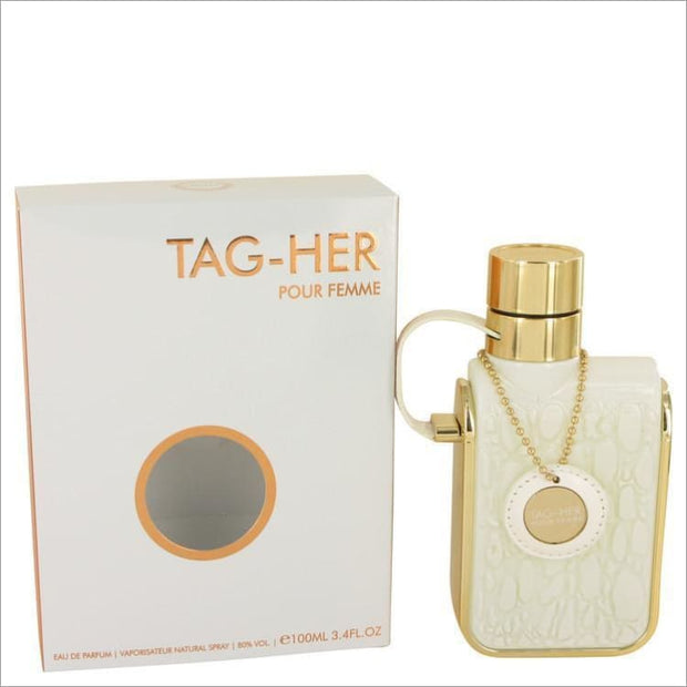 Armaf Tag Her by Armaf Eau De Parfum Spray 3.4 oz for Women - PERFUME