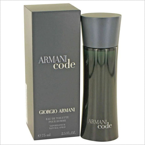 Armani Code by Giorgio Armani Eau De Toilette Spray 2.5 oz for Men - COLOGNE
